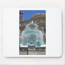 Las Vegas Fountain Mouse Pad