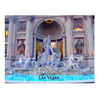 Las Vegas Fountain Postcard