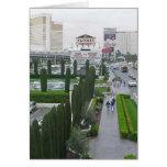 Las Vegas Fountains Hotels Casinos Caesars Palace Greeting Card