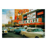 Las Vegas (Fremont Street 1950's) Poster