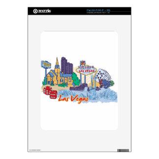 Las Vegas Fun In The Sun Decal For iPad
