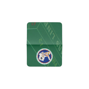 Las vegas business card holders cases zazzle las vegas gal poker chip business card holder reheart Image collections