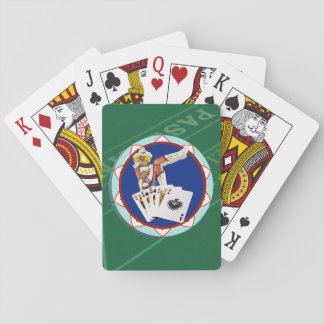 Las Vegas Gal Poker Chip Deck Of Cards