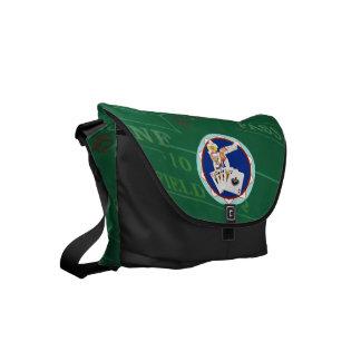 Las Vegas Gal Poker Chip Small Messenger Bag