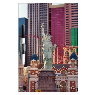Las Vegas Gambling Game Casino Neon Sign Dry-Erase Board