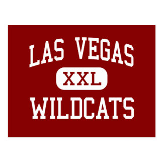 Las Vegas - gatos monteses - alto - Las Vegas Tarjetas Postales