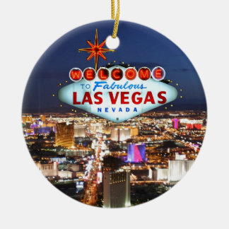 Las Vegas Gifts Ceramic Ornament