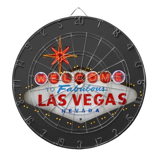 Las Vegas Gifts Dartboard With Darts