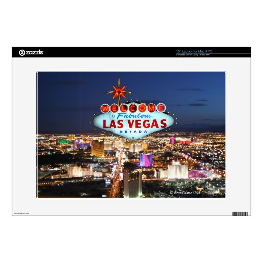 Las Vegas Gifts Laptop Decals