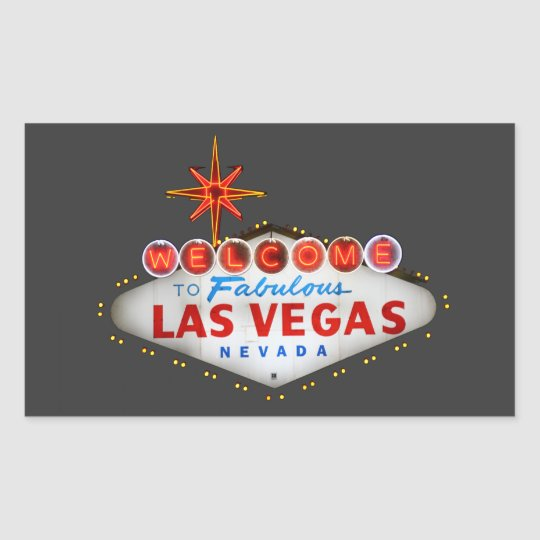 Las Vegas Gifts Rectangular Sticker