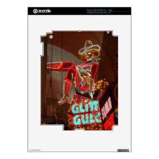 Las Vegas Glitter Gulch iPad 2 Skin