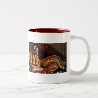 Las Vegas Golden Nugget Two-Tone Coffee Mug