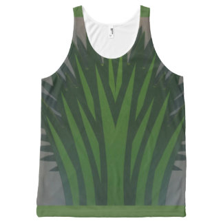 Las Vegas Green Plant Decor HappyBirthday Birthday All-Over-Print Tank Top
