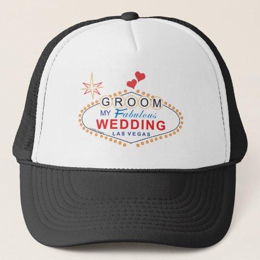 Zazzle Las Vegas Groom Hat