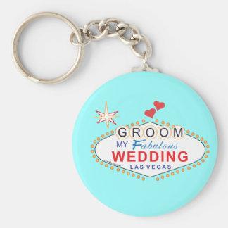 Las Vegas Groom Keychain