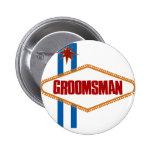 Las Vegas Groomsman Pin