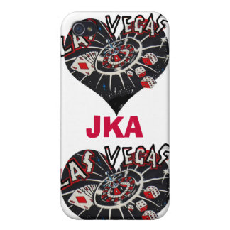 Las Vegas Hearts Customized Covers For iPhone 4