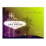 Las Vegas hermoso Nevada que casa RSVP (4.25x5.6) Postal