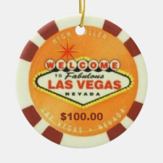 Las Vegas High Roller Ornament