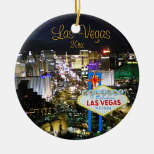 Las Vegas Ornaments Keepsake Ornaments Zazzle