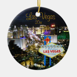Las Vegas Holiday Ornament