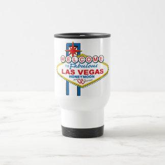 Las Vegas Honeymoon 15 Oz Stainless Steel Travel Mug