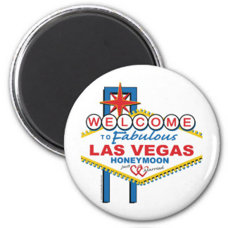 Las Vegas Honeymoon Magnet