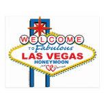 Las Vegas Honeymoon Post Card