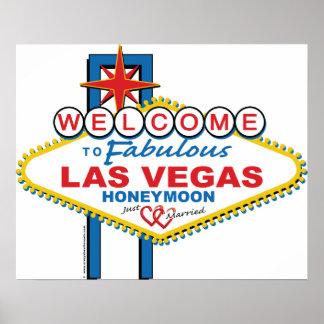 Las Vegas Honeymoon Poster