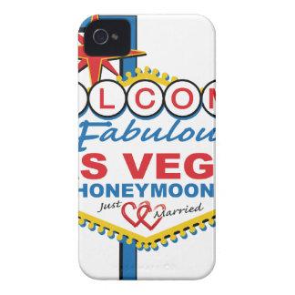 Las Vegas Honeymoon retro Case-Mate iPhone 4 Case