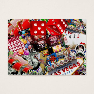 Las Vegas Icons - Gamblers Delight Business Card