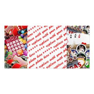 Las Vegas Icons - Gamblers Delight Card