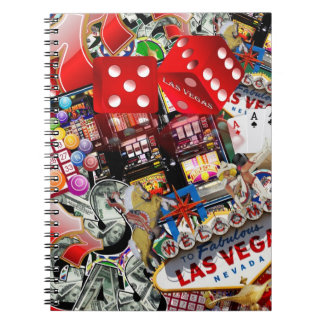 Las Vegas Icons - Gamblers Delight Spiral Note Books