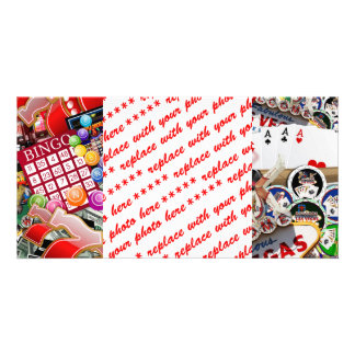 Las Vegas Icons - Gamblers Delight Picture Card