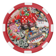 Las Vegas Icons - Gamblers Delight Poker Chips