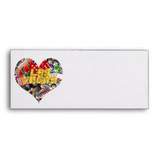Las Vegas Icons - Heart Shape Envelopes