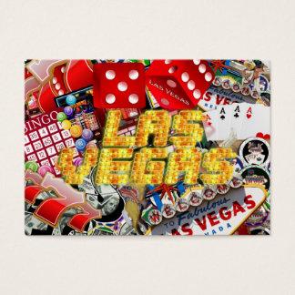 Las Vegas Icons - Neon Lights Business Card
