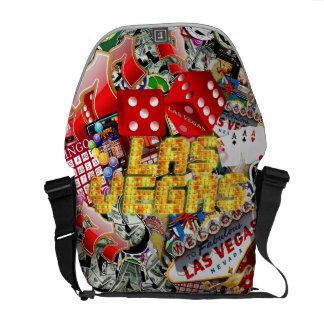 Las Vegas Icons - Neon Lights Courier Bag