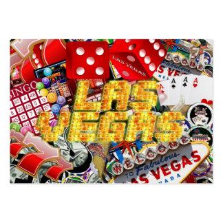 Las Vegas Icons - Neon Lights Large Business Card