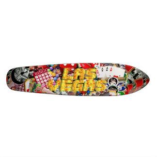 Las Vegas Icons - Neon Lights Skateboard