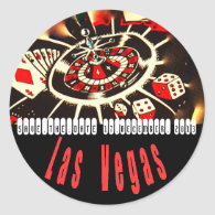 Las Vegas Icons Wedding Plans Stickers