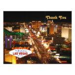 Las Vegas le agradece cardar Anuncios Personalizados