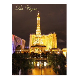 Las Vegas Lights Postcard