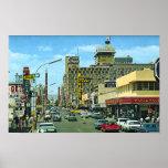 Las Vegas (los años 50 de la calle de Fremont) Posters
