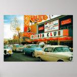 Las Vegas (los años 50 de la calle de Fremont) Impresiones