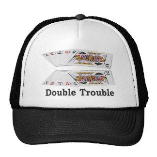 Las Vegas Lucky Double Trouble Gambler's Cap! Hats