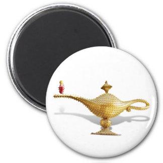 Las Vegas Magic Lamp 2 Inch Round Magnet
