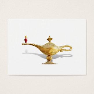 Las Vegas Magic Lamp Business Card