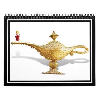 Las Vegas Magic Lamp Calendar