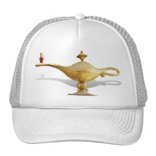 Las Vegas Magic Lamp Mesh Hats